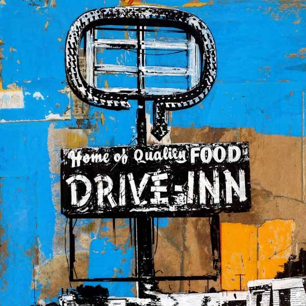 drive inn sign
